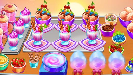 Télécharger Gratuit Jeux de cuisine pour filles Restaurant Craze Fever APK MOD (Astuce) screenshots 1