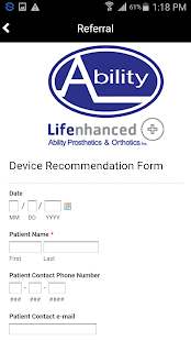 Ability Prosthetics & Orthotic- screenshot thumbnail