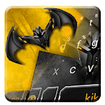 Metallic Bat Keyboard Theme Icon