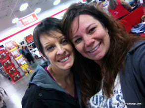 Photo: I love living in a small town...Ran into my friend Betty as she was leaving. (We also crossed paths about 30 minutes later in the candy aisle at Walmart!)