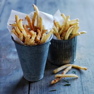 Air-Fried Seasoned French Fries.