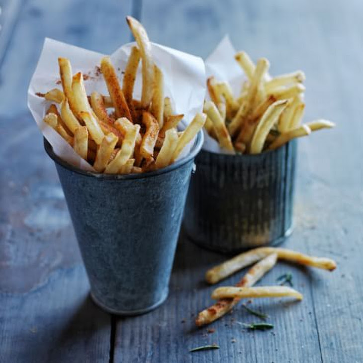 Air-Fried Seasoned French Fries Recipe