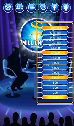 Millionaire Quiz 2018 - Million Trivia Game Free 3.26 screenshots 16