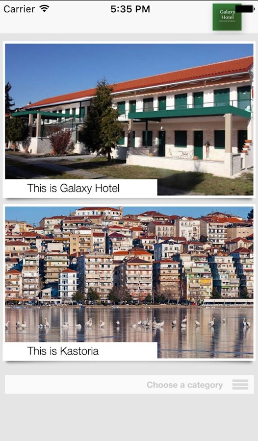 Kastoria Galaxy Hotel- screenshot