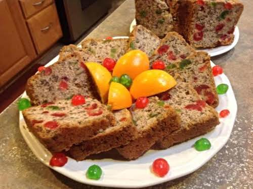 "Mama's White Fruit Cake (Family Favorite) ""This cake was a BLUE RIBBON..."