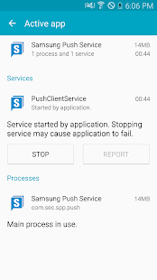 Samsung Push Service- screenshot thumbnail