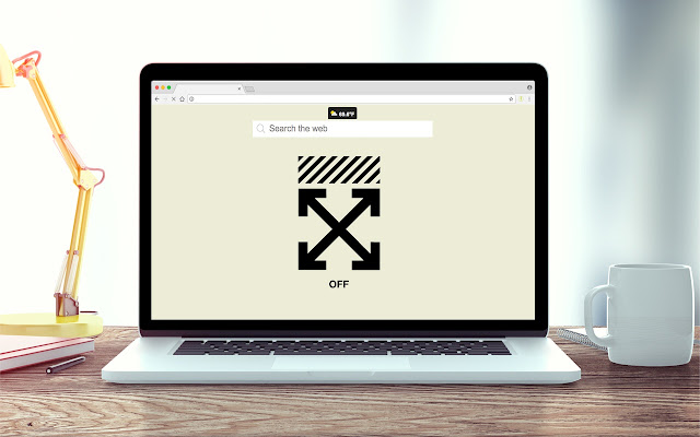 Off-White Wallpapers New Tab Theme
