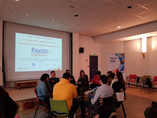 Speed-meeting avec des femmes entrepreneures au CFA STEPHENSON