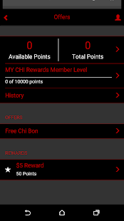 MY CHI Rewards Loyalty Club- screenshot thumbnail
