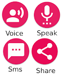 Write Messages with Your Voice Icon