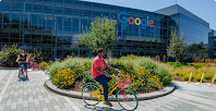 Photograph of Google campus.