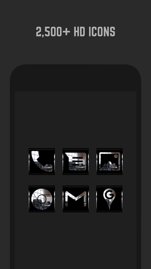 Krome Icon Pack- screenshot