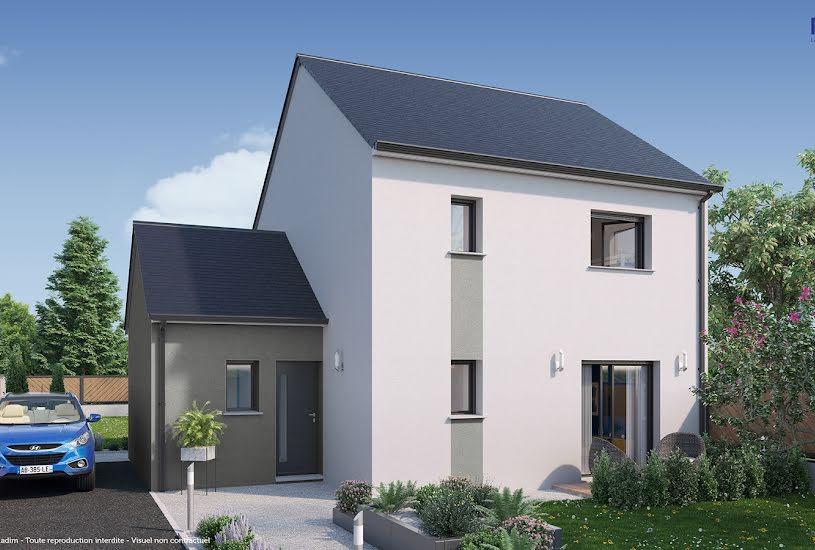 Vente Terrain + Maison - Terrain : 1600m² - Maison : 98m² à Changé (72560)