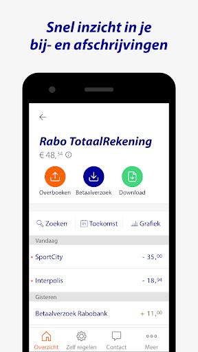 Rabo Bankieren screenshot 3