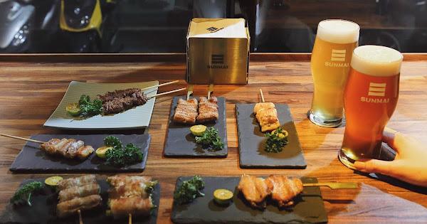 SUNMAI BAR × 胡同燒肉|台北大安區|酒食雙品牌夢幻聯名,大口喝酒大口吃肉!