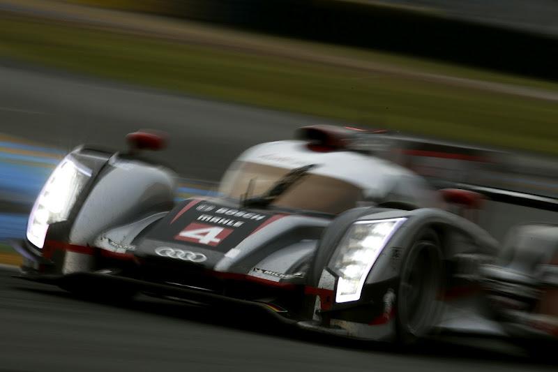 Photo: Audi R18 ultra #4 (Audi Sport Team Joest)Marco Bonanomi (I), Oliver Jarvis (GB), Mike Rockenfeller (D)