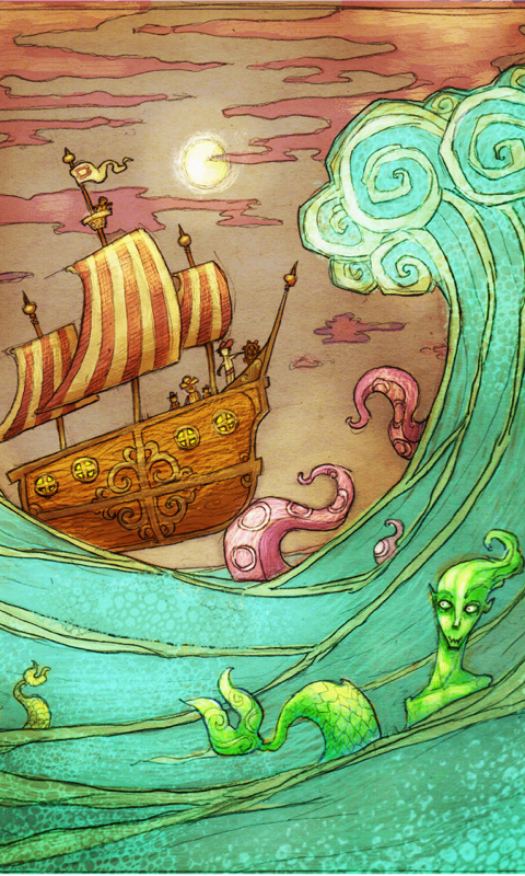 The Daring Mermaid Expedition screenshot #1