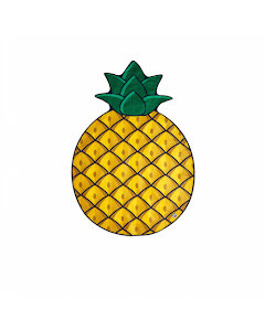Badhandduk, Ananas