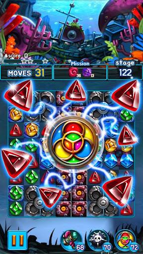 Jewel Kraken: Match3 puzzle  screenshots 2