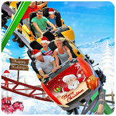 🎄 Christmas Roller Coaster 3D