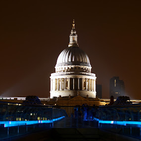 St Paul's Cathedral by Veronika Gallova - Travel Locations Landmarks ( london, st pauls cathedral, st paul's cathedral,  )