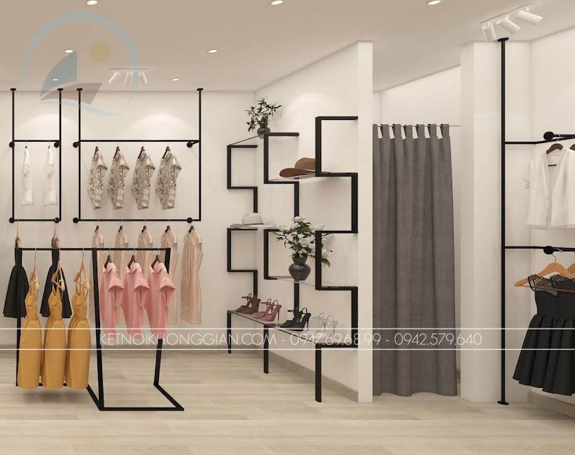 thiết kế shop thời trang nữ giá thành rẻ Glitter 4