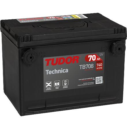 Batteri Tudor/Exide USA 12V/75Ah---