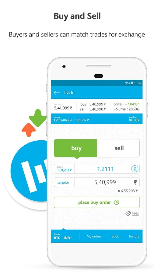 Zebpay Bitcoin and Cryptocurrency Exchange- screenshot
