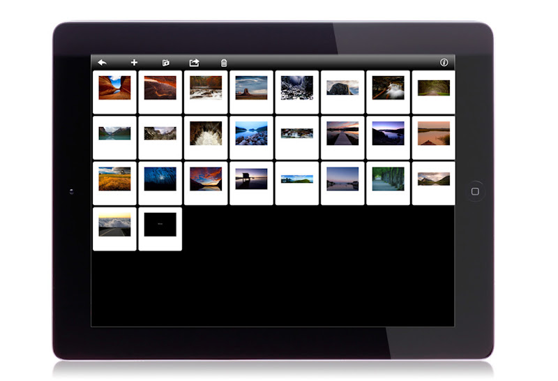 Photo: This is the thumbnail view where you can drag and drop your images into the order you want them. This is where you add/delete photos as well.