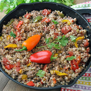 Cauliflower Rice Ground Beef Recipes.