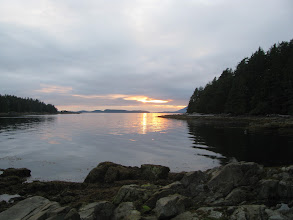 Photo: Sunset from Helby Island