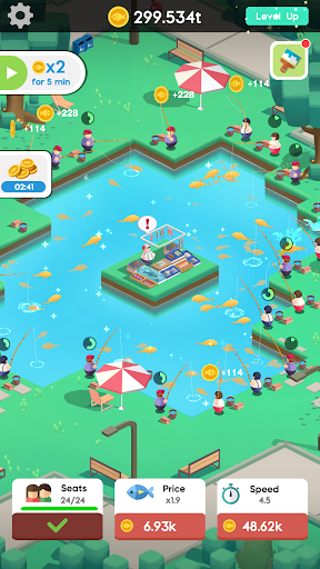 Idle Angler Tycoon screenshot 2
