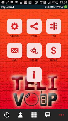 Teli Voip - screenshot