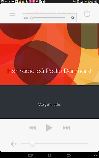 Danish radio Radio of Denmark