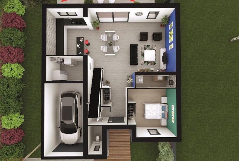 Vente Terrain + Maison - Terrain : 390m² - Maison : 115m² à Pessac (33600)