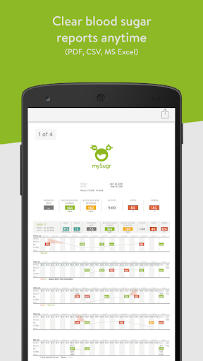 mySugr: the blood sugar tracker made just for you 3.54.6 screenshots 4