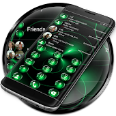 Dialer Spheres Green Theme