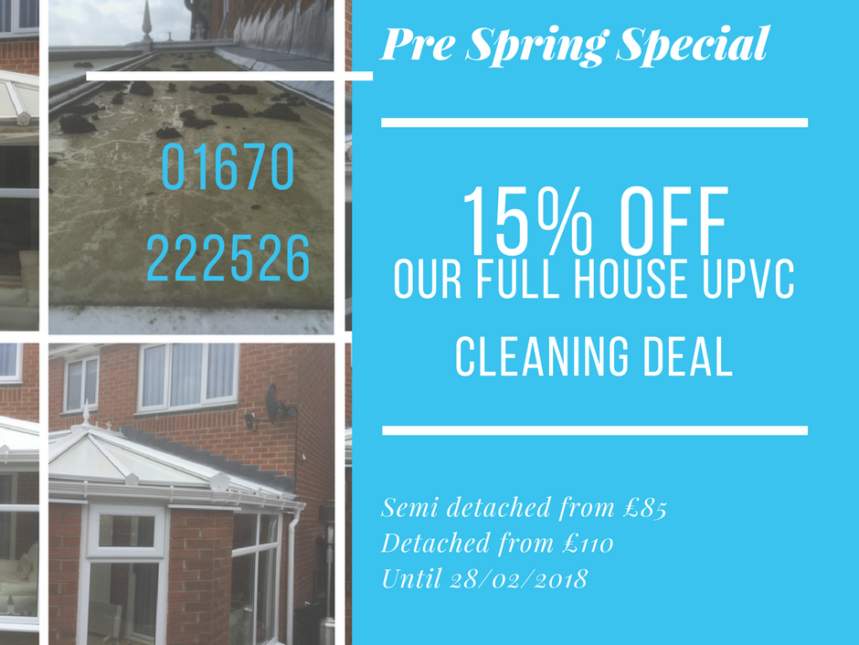 blue wizard cleaning exterior cleaning service