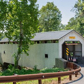 Keller's Mill Covered Bridge by Jerry Hoffman - Buildings & Architecture Bridges & Suspended Structures (  )