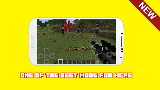 Guns Mod For Minecraft PE MCPE - náhled