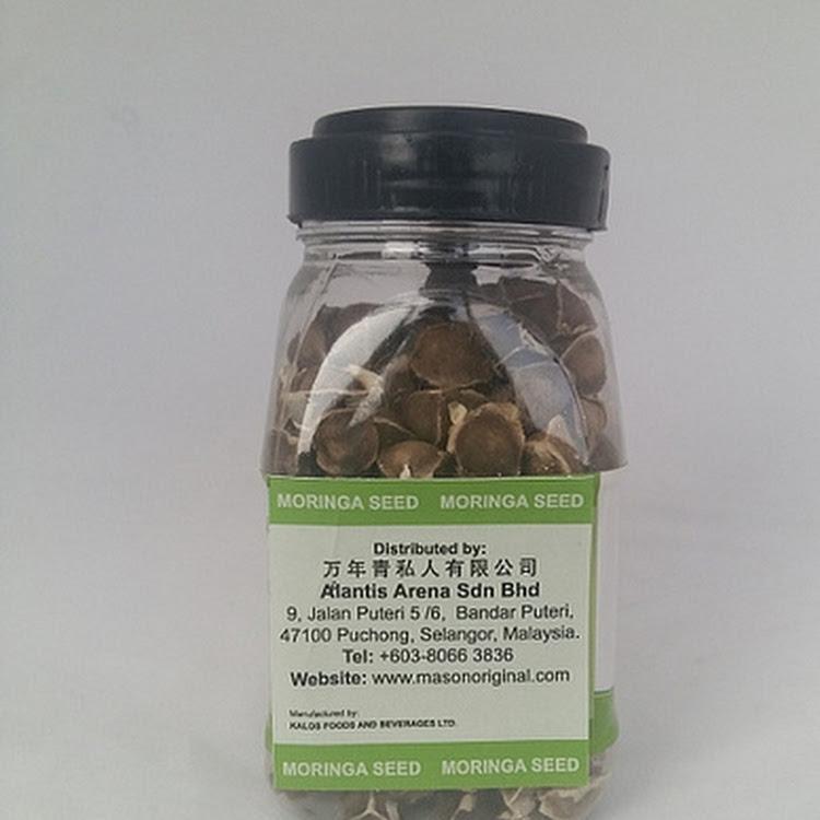 Mason Original Moringa Seed (75gms per bottle)
