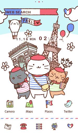 Cat Wallpaper-Kitties in Paris 1.0.0 Windows u7528 5