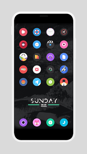 Screenshot for SAVITENX Icon Pack in United States Play Store