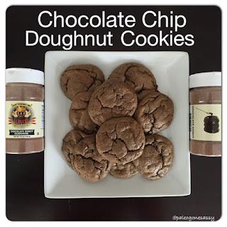 Chocolate Chip Doughnut Cookies.