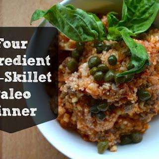 One Skillet Paleo Dinner