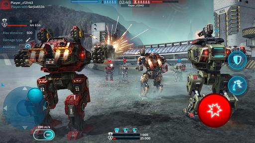 Robot Warfare: Mech Battle 3D PvP FPS apktram screenshots 19