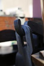Photo: ... juste un peu de lubrifiant, tjs sans un grain de poussière ... le soucis du détail du mécanicien ...