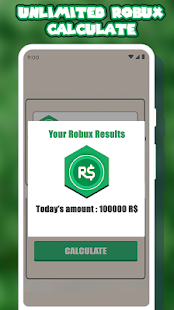 App Free Robux Calculator For Roblox APK for Windows Phone