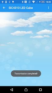 SIC4310 LED Cube screenshot 5