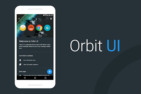 Orbit UI - Icon Pack- screenshot thumbnail